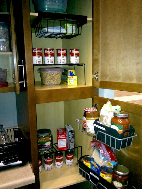 IMG - Pantry Cabinet Organizers, Organize that Pantry Cabinet