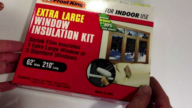 Window Insulator Kit - How to Save Energy at Home