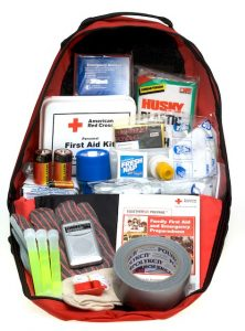 Emergency Car Kit Packed in a Bag