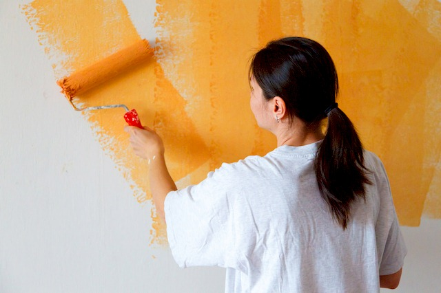 Eliminate Paint Odor, Providing for Adequate Ventilation During and After Painting