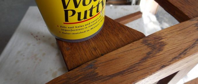 Wood Finishing: How to Match Wood Putty