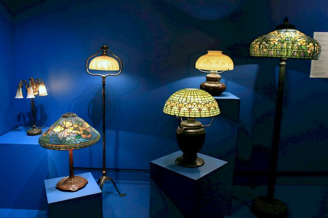 Tiffany Lamps, Mark Twain Museum