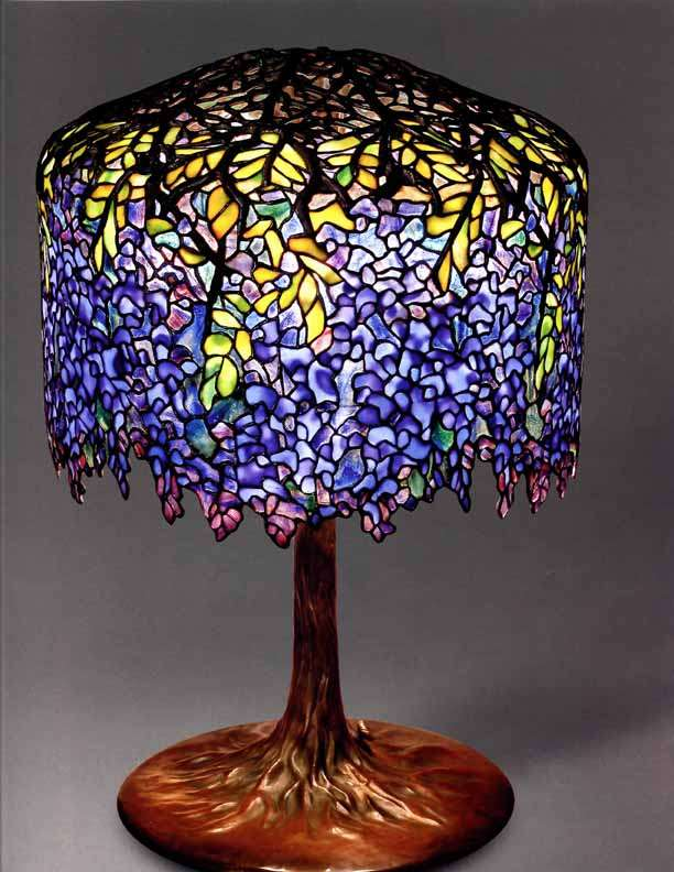 Tiffany Lamps Wisteria Designs