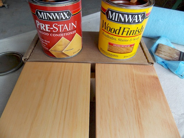 Pre-stain Wood Conditioners