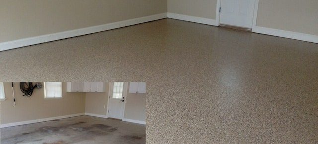 Garage Floor Makeover! Makeover that Drab Garage Floor