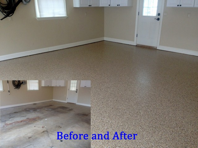 Garage Floor Epoxy Coating - Garage Floor Makeover