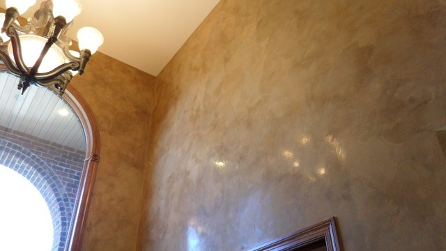 How to Paint Faux Italian Plaster