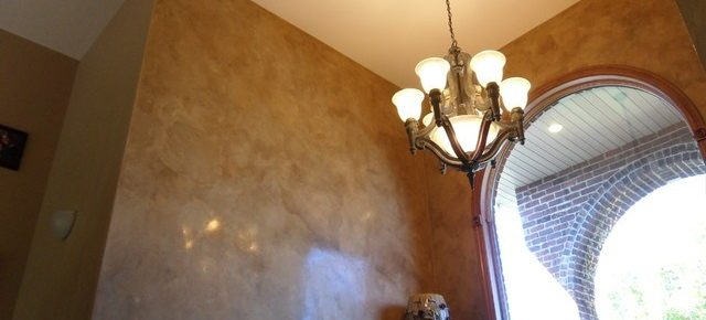 How to Paint Faux Italian Plaster, Mottled Wall Technique