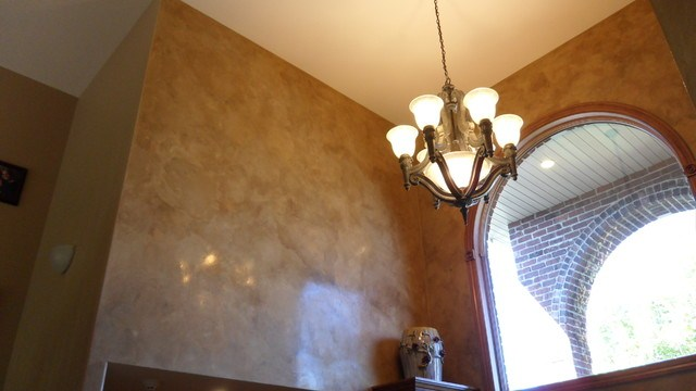 Faux Italian Plaster, Mottled Wall Technique