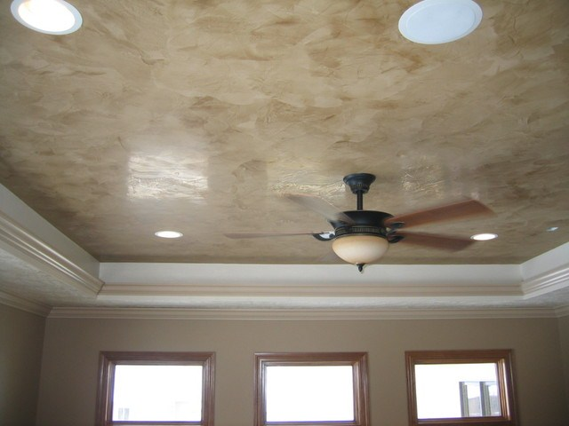 Faux Italian Plaster Decorative Paint Finish