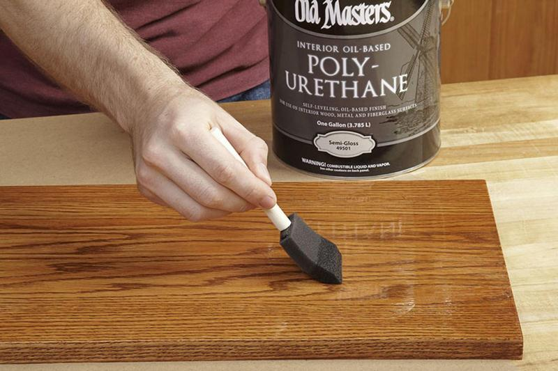 How to Apply Polyurethane, Oil-based Polyurethane Wood Finish