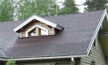 A Steep Sloped Shingle Roof - How Much Does a New Roof Cost