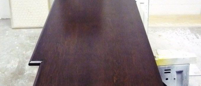 How to Produce a Hand Rubbed Satin Wood Finish, for Interior Architectural Wood Finishing