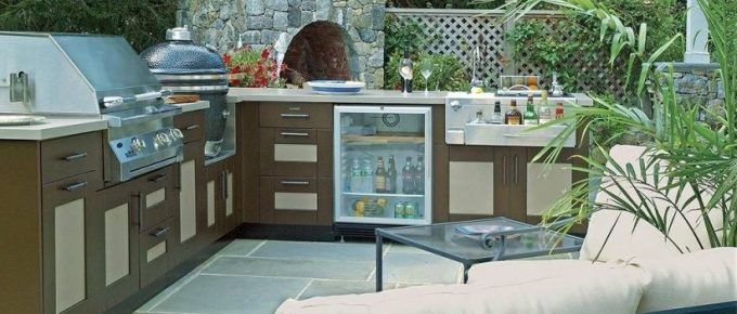 DIY Project to Install Outdoor Kitchen Cabinets