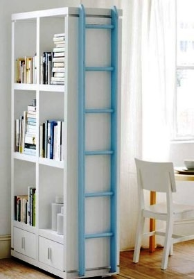 Bookshelves (Creative Ways to Separate Rooms)