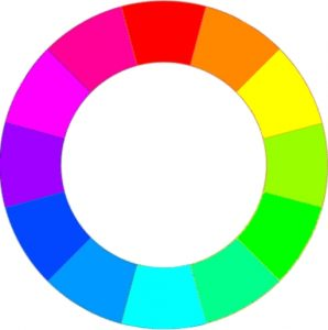 Colorwheel - Living Room Wall Paint Ideas to go with Black Furniture