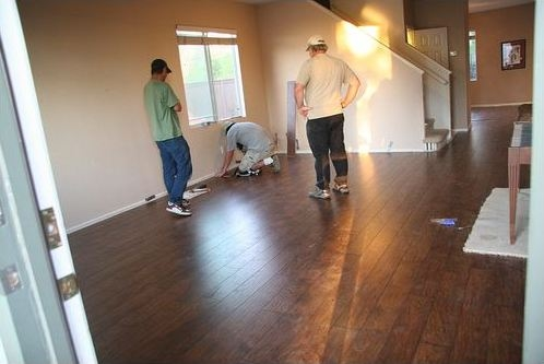 Pergo Floor Completion - How to Install Pergo Flooring Yourself