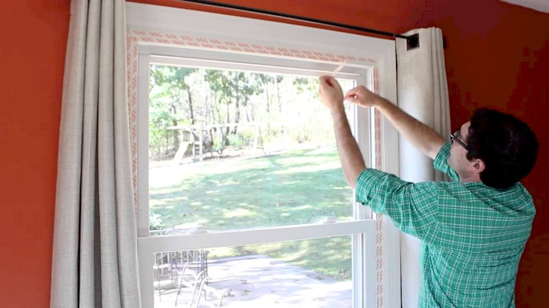 Winterize Windows with Plastic