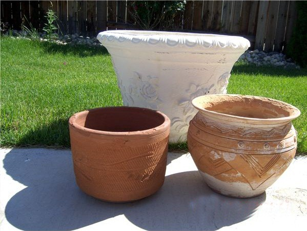 Planter containers - DIY indoor water features