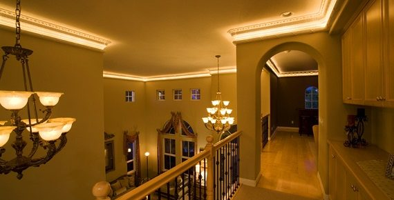 Guide to Installing Lighted Crown Molding