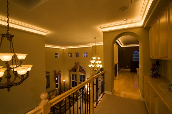 How to Install Lighted Crown Molding