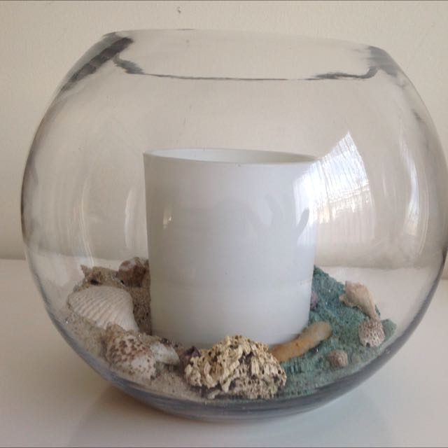 Beach Rock Candle Holder - DIY Candle Holder - How to Make Rock Candle Holders