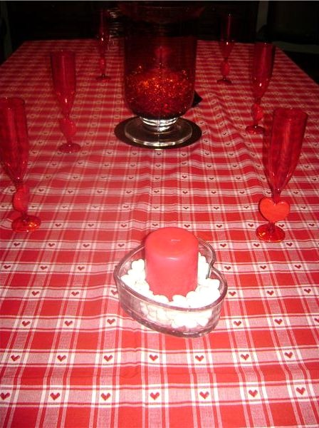 Valentine Table Decorations - Valentine Decorations for the Home
