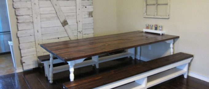 How I Made My Farm Table, Plus Free 39+ DIY Farm Table Plans to Build Yourself