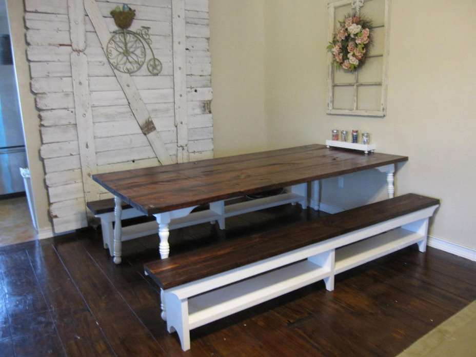 How I Made My Farm Table