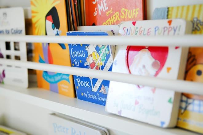 Easy DIY Bookshelf Life with Fingerprints