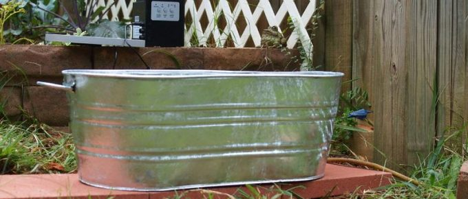 How to Build a Garden Fountain with a Flower Watering Can
