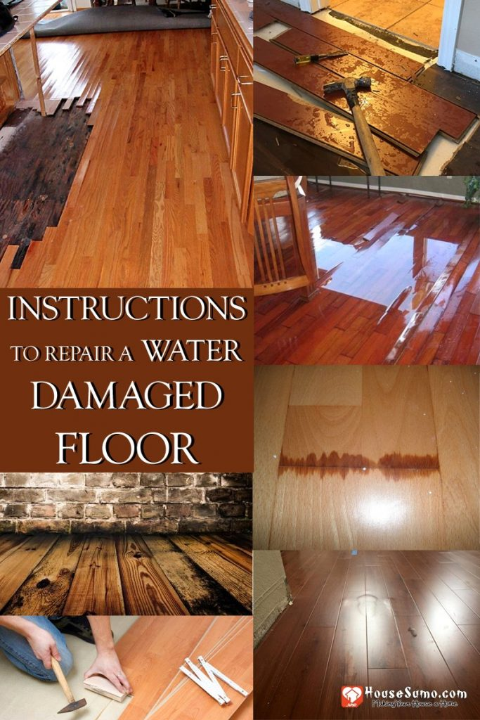 How to Repair Water Damaged Floor