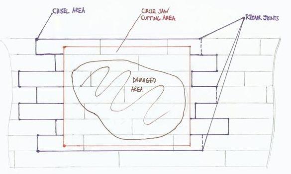 Wood Floor Repair Diagram - How to Repair Water Damaged Floor