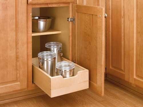 Kitchen Cabinet with DIY Drawers for Kitchen