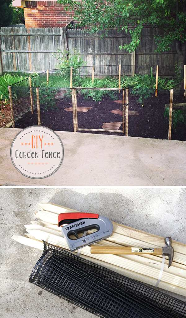 A Garden Fence, DIY Project