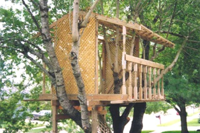 DIY Open Tree House: EZ Treehouse Plans by Fred Lundgren and John Gallagher