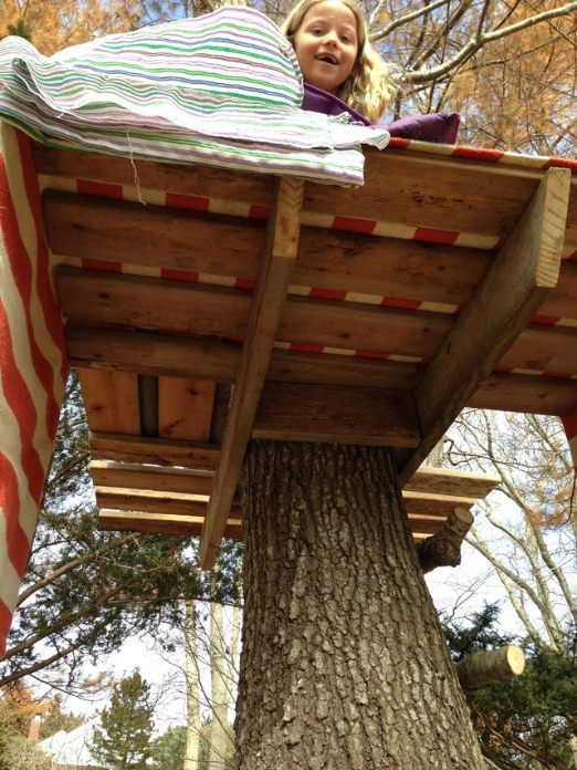 How To Build a Simple Tree House by Apartment Therapy