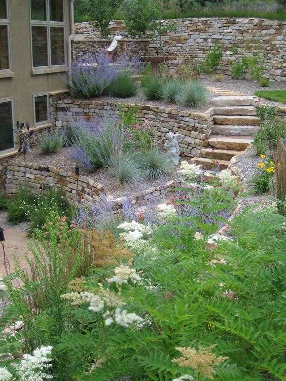 Ideas for Landscaping a Hillside, Easy Hillside Landscape Ideas