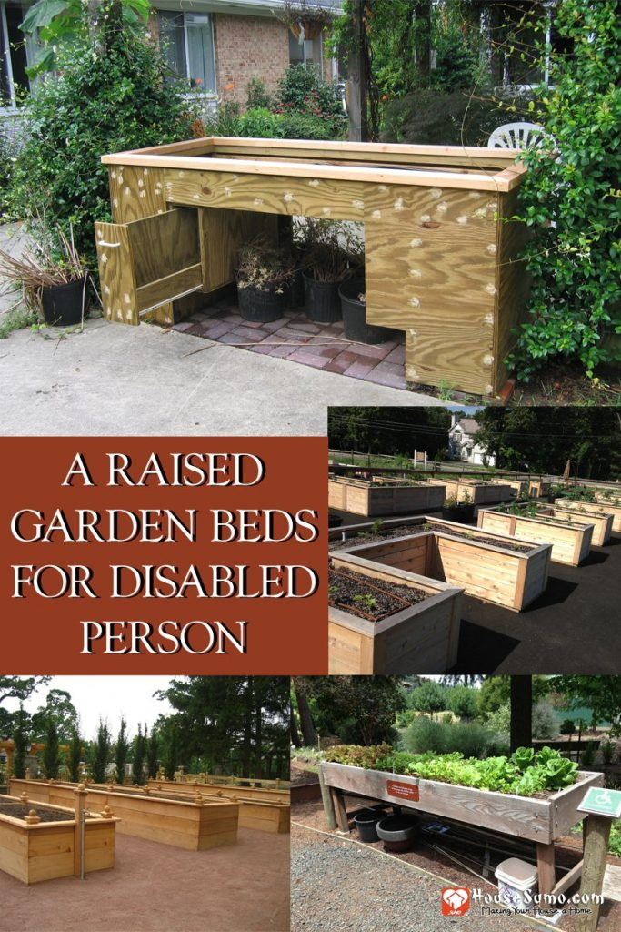 Examples of a Raised Garden Beds for Disabled