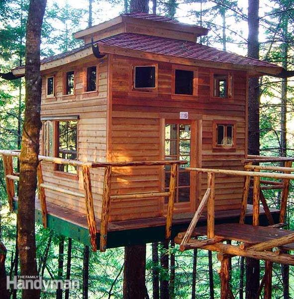 The Family Handyman Tree House Building Tips