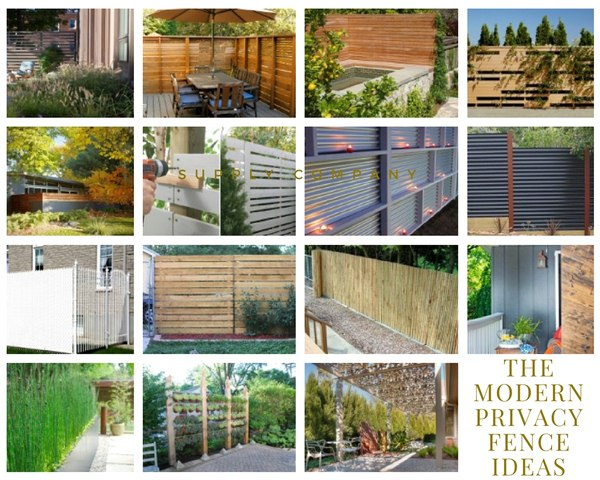 The Modern Privacy Fence Ideas