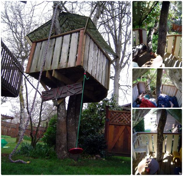 The Tree Fort: How to Build a Treehouse by Makendo
