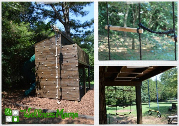 Wellness Mama Treehouse for Fun & Exercise