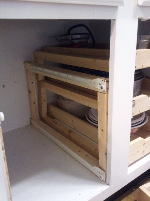 Kitchen Cabinet Drawers DIY