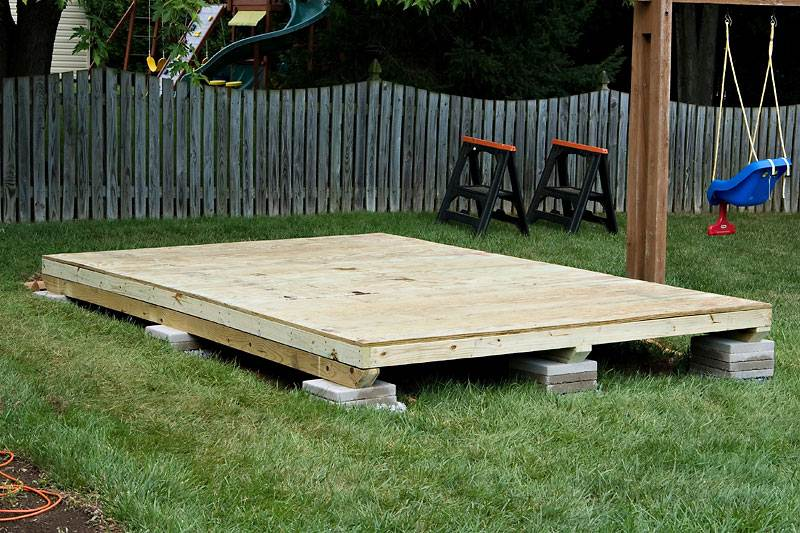 How to Build 10 x 12 Foot Garden Shed