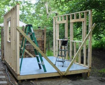 Step by Step Instructions on How to Build a 10 X 12 Foot Garden Shed