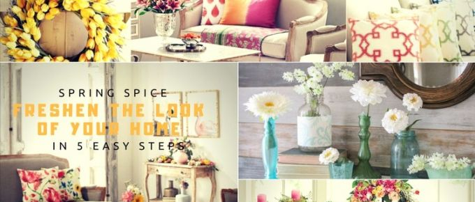Spring Spice: Freshen the Look of Your Home in 5 Easy Steps