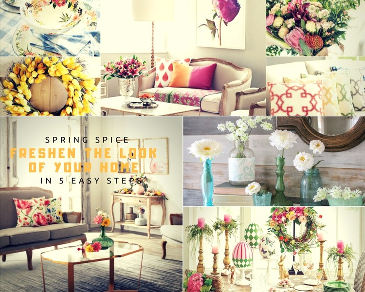 Spring Decorating: Freshen the Look of Your Home in 5 Easy Steps