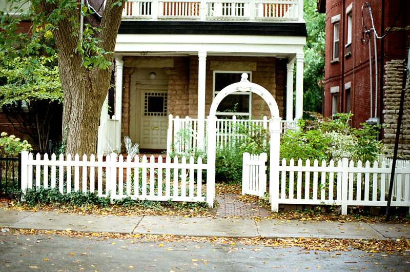 image - White Picket Fence - How to Build a Fence Using Pre Built Panels