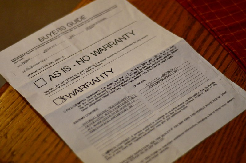 Consumers Guide to Extended Warranties
